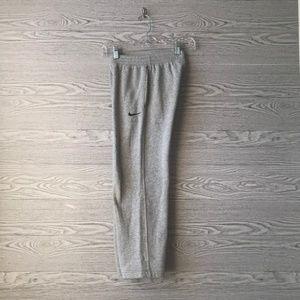 Nike Bottoms - Nike Grey & Black Boys Sweatpants